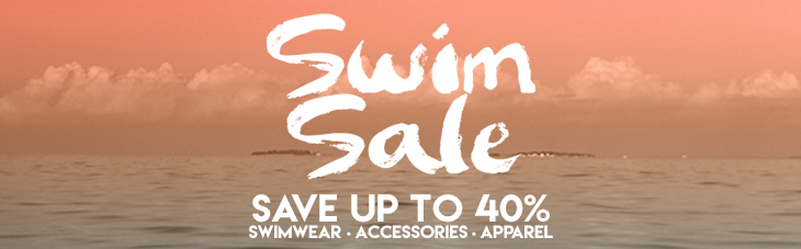Swim Sale 2017 - Up to 40% Off